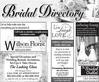 August Bridal Directory