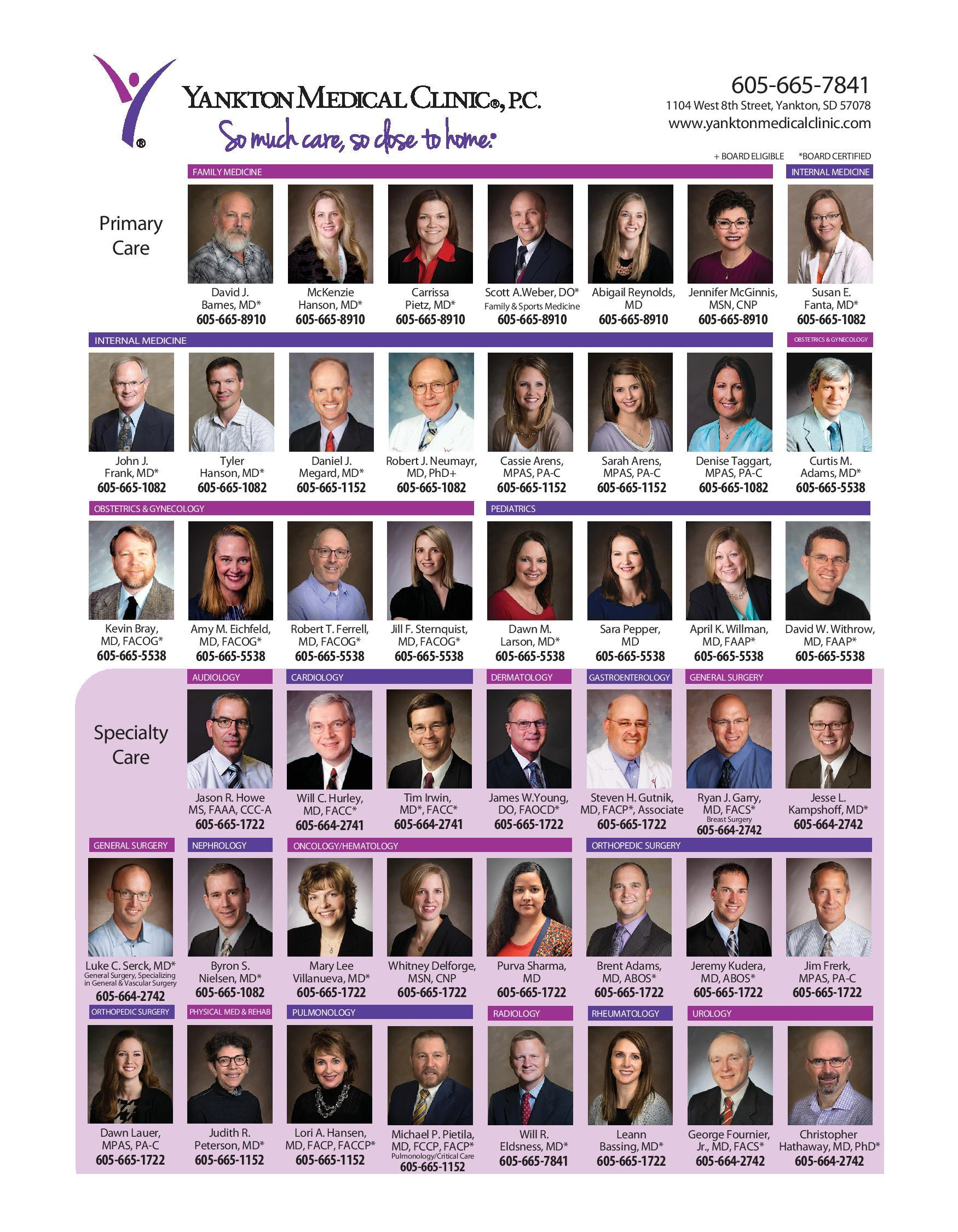 Health and Medical Directory 2018 - 2